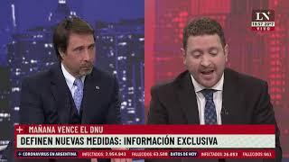 El Pase 2021 entre Eduardo Feinmann y Joni Viale. 29 de abril de 2021