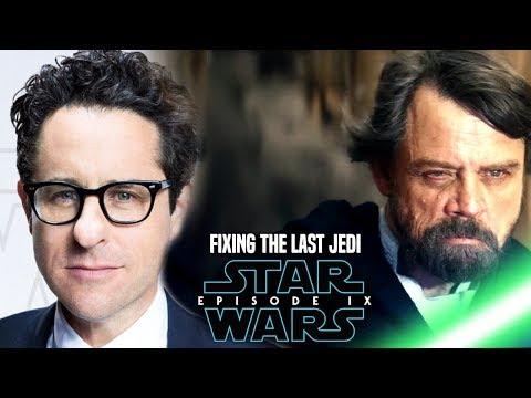 Star Wars! JJ Abrams Fixing The Last Jedi In Episode 9 & More