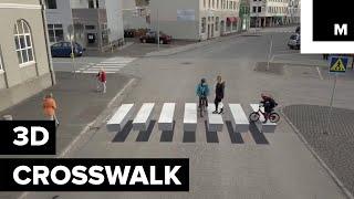 3D Crosswalk is Helping Slow Down Traffic