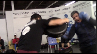 POWERFUL! WBO WORLD CHAMPION JESSIE MAGDALENO SHOWS THE POWER HE POSSESSES **IN CAMP FOOTAGE**