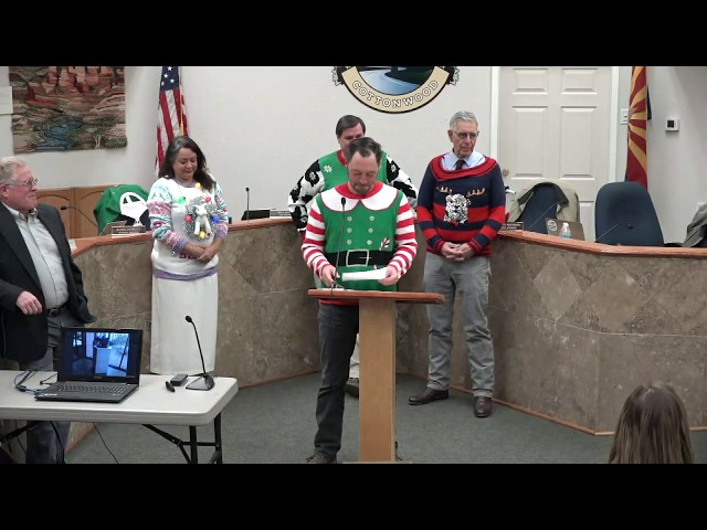 Cottonwood Council Presentations and Introduction of New Employees