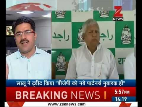 Lalu Prasad Yadav tweets against BJP