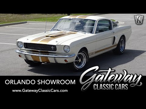 1966 Ford Mustang GT350H Hertz For Sale Gateway Classic Cars Orlando 1652