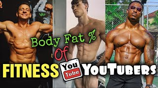 Body Fat % of Famous Fitness YouTubers! Simeon Panda, Vitaly, David Laid, Brandon Harding and more!