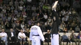 Keimyung University Taekwondo Demonstration Team - Karlovac 2012