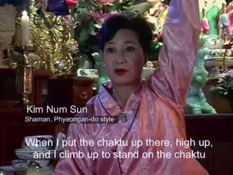 Korean Shaman (무당) - Possession by the Spirit of Changun