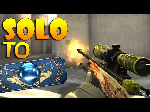 CS:GO - Solo MM back to Global! #2