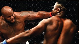 Derrick Lewis vs Francis Ngannou Highlights