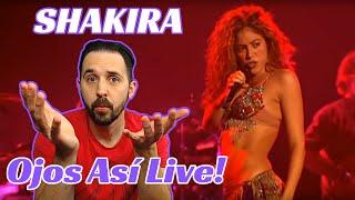 Reaction To Shakira Live Ojos Así - How Does She Move Like That?!?