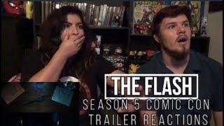 The Flash Season 5 Comic Con Trailer Reactions