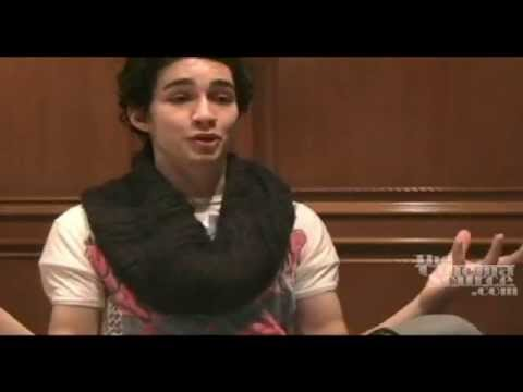 Robert Sheehan Exclusive  for Season of the Witch the movie & Misfits the UK TV Series