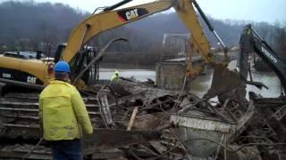 Bridge Construction Progressing In Greenup