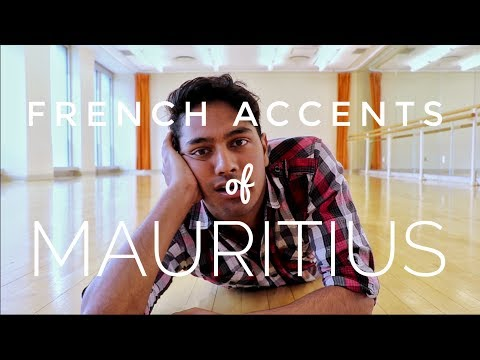 French Accents of Mauritius