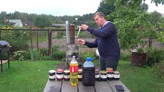 Перегонка отработанного масла в дизельное топливо / Часть 1