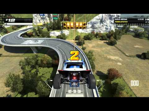 Trackmania Turbo Testing The TRACK BUILDER And I GO RAGE MODE