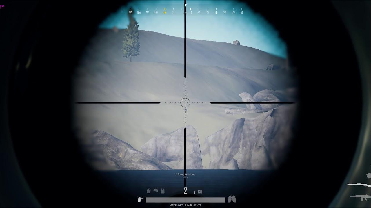 PUBG #850m Sniper Headshot