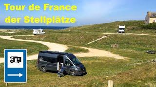 """Mein Stellplatz-Guide — die """"TOUR DE FRANCE"""" der Küsten Frankreichs (für den Caravan Salon Club)"""