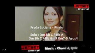 """Musik Chord & Lirik pada lagu Frida Luciana  """"Rindu"""""""