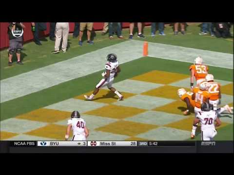 2017 USC vs Tennessee - AJ Turner 20 Yd Touchdown Run