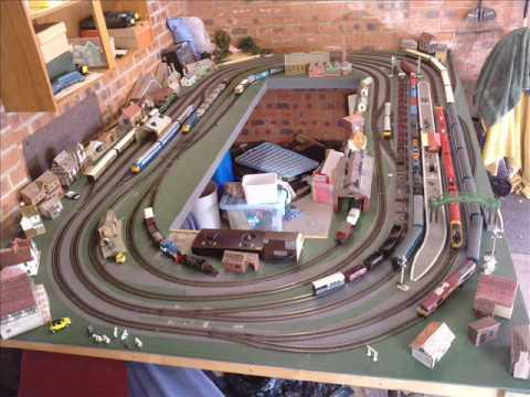 00 gauge model railway for sale