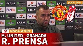 MANCHESTER UNITED vs GRANADA | DIEGO MARTÍNEZ, rueda prensa | DIARIO AS