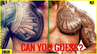 WWE Quiz - Which WWE WRESTLERS By Their Chest TATTOOS 2018 [HD]