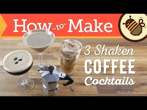 3 Coffee Cocktails : Mocha Margarita, Horchata Coffee Cocktail & Espresso Martini