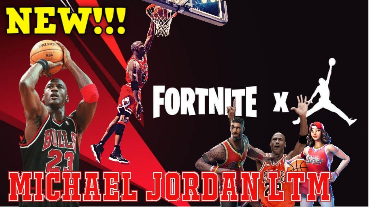 Comes LtmNba Air To X Fortnite Michael Jordan FJlK13Tc