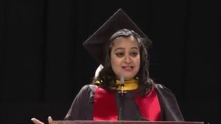 Commencement speech by Indian student speaker Neha @Smith School of Business 2015 thumbnail