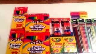 Back to School Deals.....Couponing at Walmart....Washable Markers .50 & so many more deals!(There are some great back to school items currently on roll back at Walmart! Awesome deals on Washable Markers, Colored Pencils glue & more! School is just ..., 2015-07-13T13:30:59.000Z)