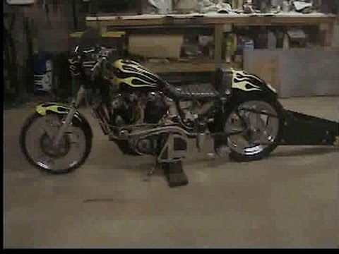 Harley iron head Sportster drag bike parts SOLD