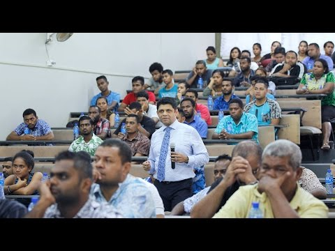 Fijian Minister holds 2017-2018 Budget Consultations at FNU,