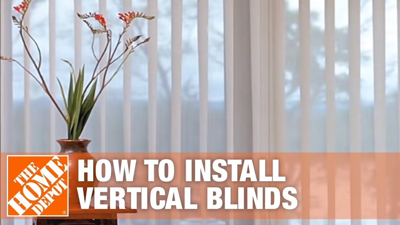 How To Install Outside Mount Vertical Window Blinds