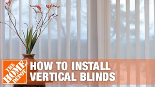 How to Install Outside-Mount Vertical Window Blinds Mp3