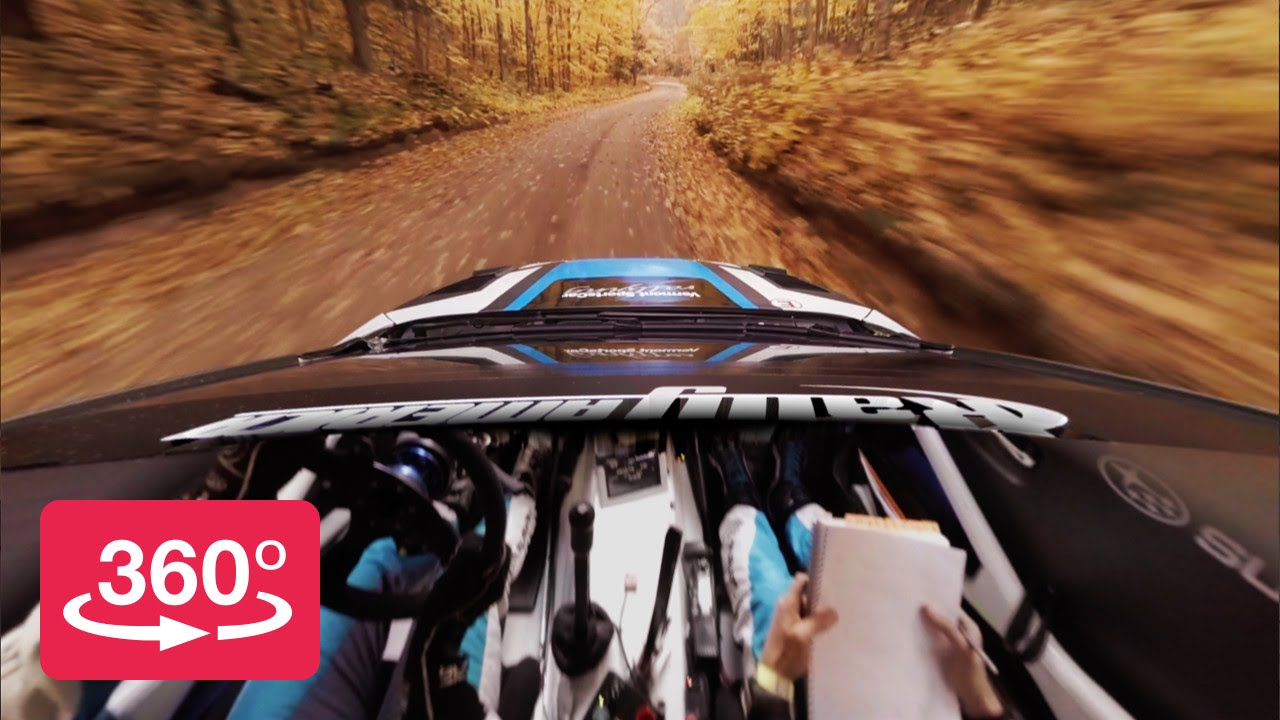 Rallying In 360º With Peer Thru Technology Youtube