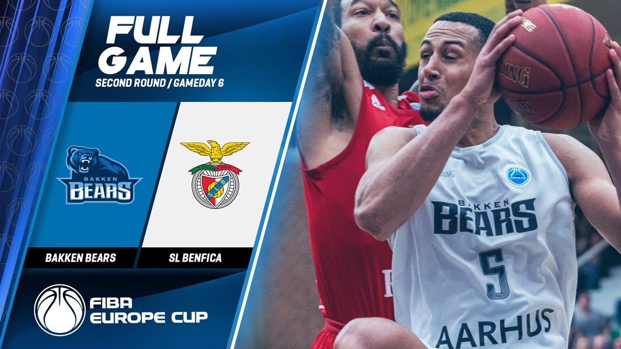Bakken Bears v SL Benfica - Full Game - FIBA Europe Cup 2019