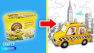 10 DIYs To Create Miniature New York City and Other Barbie Hacks