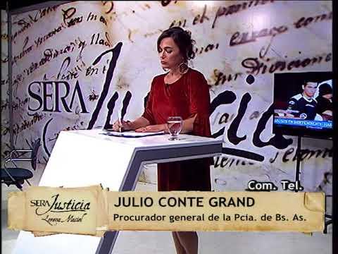 Julio Conte Grand - Abusos en el deporte: declaración de Natacha Jaitt como testigo en la causa