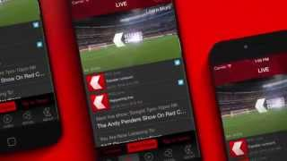 The Red Card Connect Football App