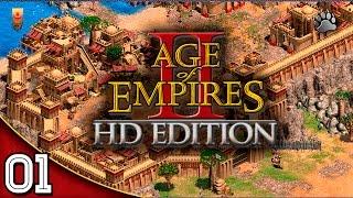 Age of Empires 2 HD #01 | Missão 1 African Kingdoms | Gameplay Português Vamos Jogar PT-BR