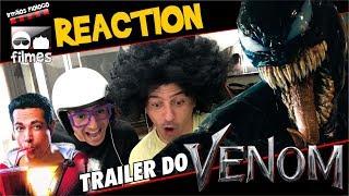 🎬 Venom Reaction  do Trailer - Irmãos Piologo Filmes