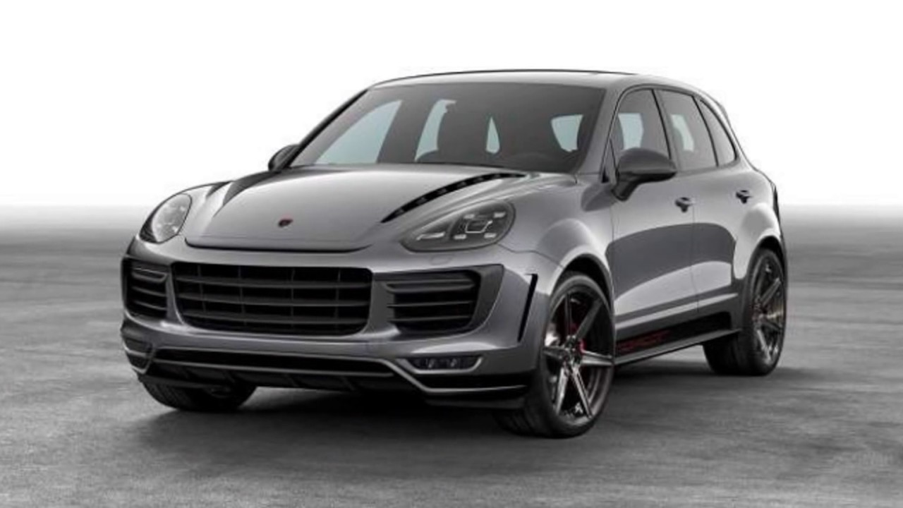 The 2018 Porsche New Cayenne Gts