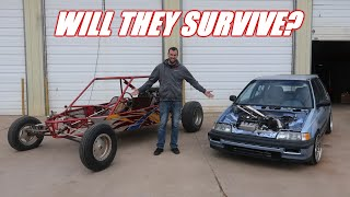 V6 Dune Buggy and Wago VS JAMES (Didn't Have to Fight Him)