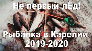 ЗИМНЯЯ РЫБАЛКА НА МОРМЫШКУ 2019 2020 Рыбалка в Карелии на озере Машезеро