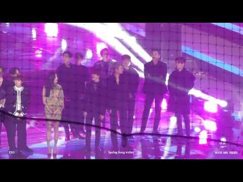 181225 SBS 가요대전 EXO - Opning (Full focus)