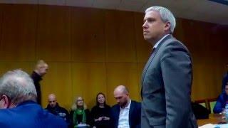 Михаил Саакашвили потребовал у представителя СБУ удалится с заседания Совета экономического развития