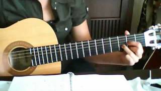 Marit Larsen, If a song could get me you, 1/2 Tutorial , how to play, guitar, gitarre