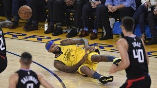 Cousins Injury, Warriors Blew 31 Pt Lead Game 2 Clippers! 2019 NBA Playoffs