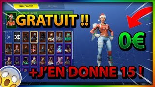 I HAVE THIS FORTNITE FREE ON TWITTER, IT'S INCROYABLE !!!