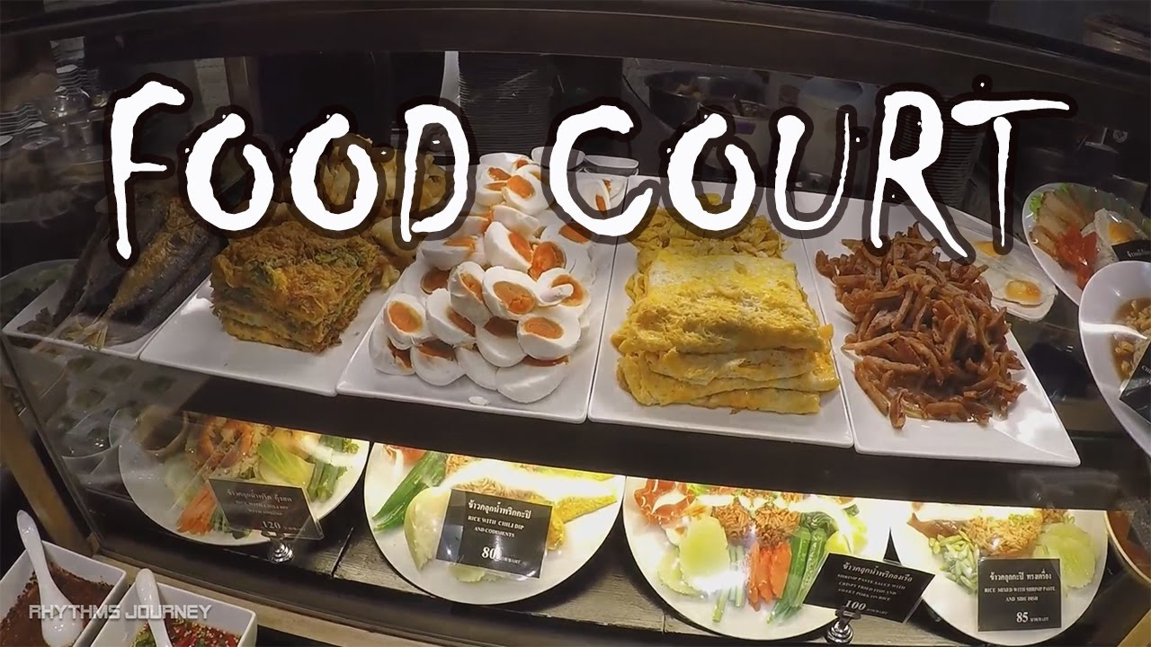 Paragon Food Court Bangkok